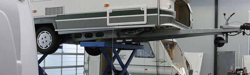 caravan reparatie schade herstel bedrijf Limburg