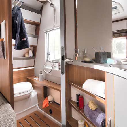 lmc vivo 2016 caravan nieuw badkamer